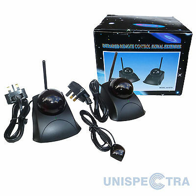 Long range Pro-Series Infrared Remote Control Extender Repeater Mains Powered