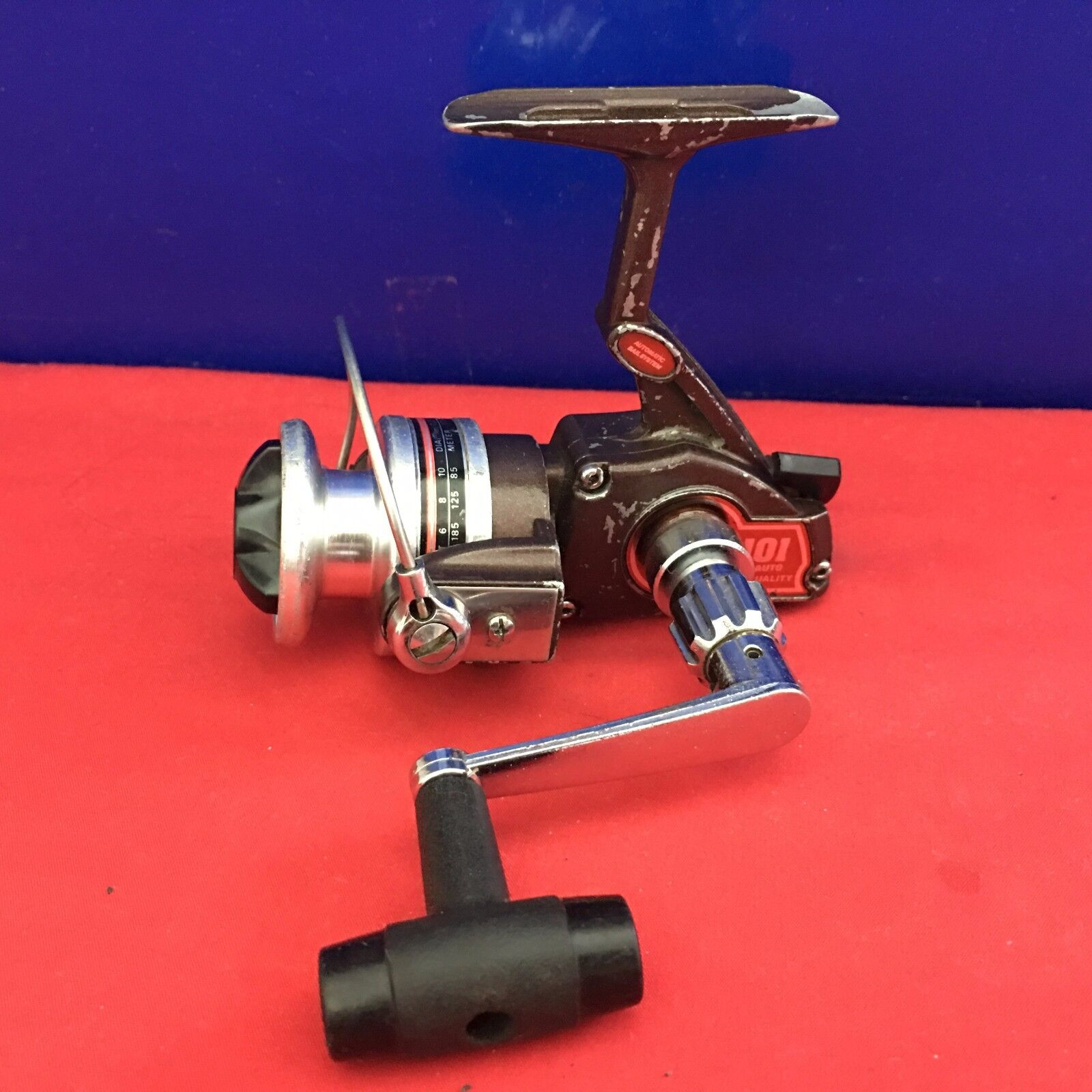 Vintage Olympic 101 Vo Auto Spinning Fishing Reel Ebay