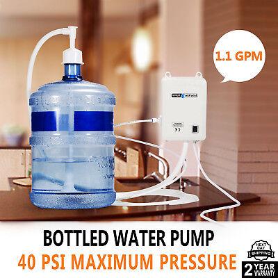 US 120V AC Bottled Water Dispensing Pump System Replaces Bunn Flojet f/Ice (Water Dispenser Ice Maker)