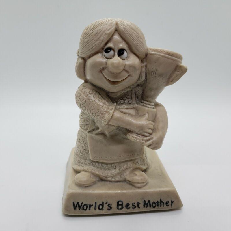 Vintage 1970 Russ Wallace Berrie Co Figurine World