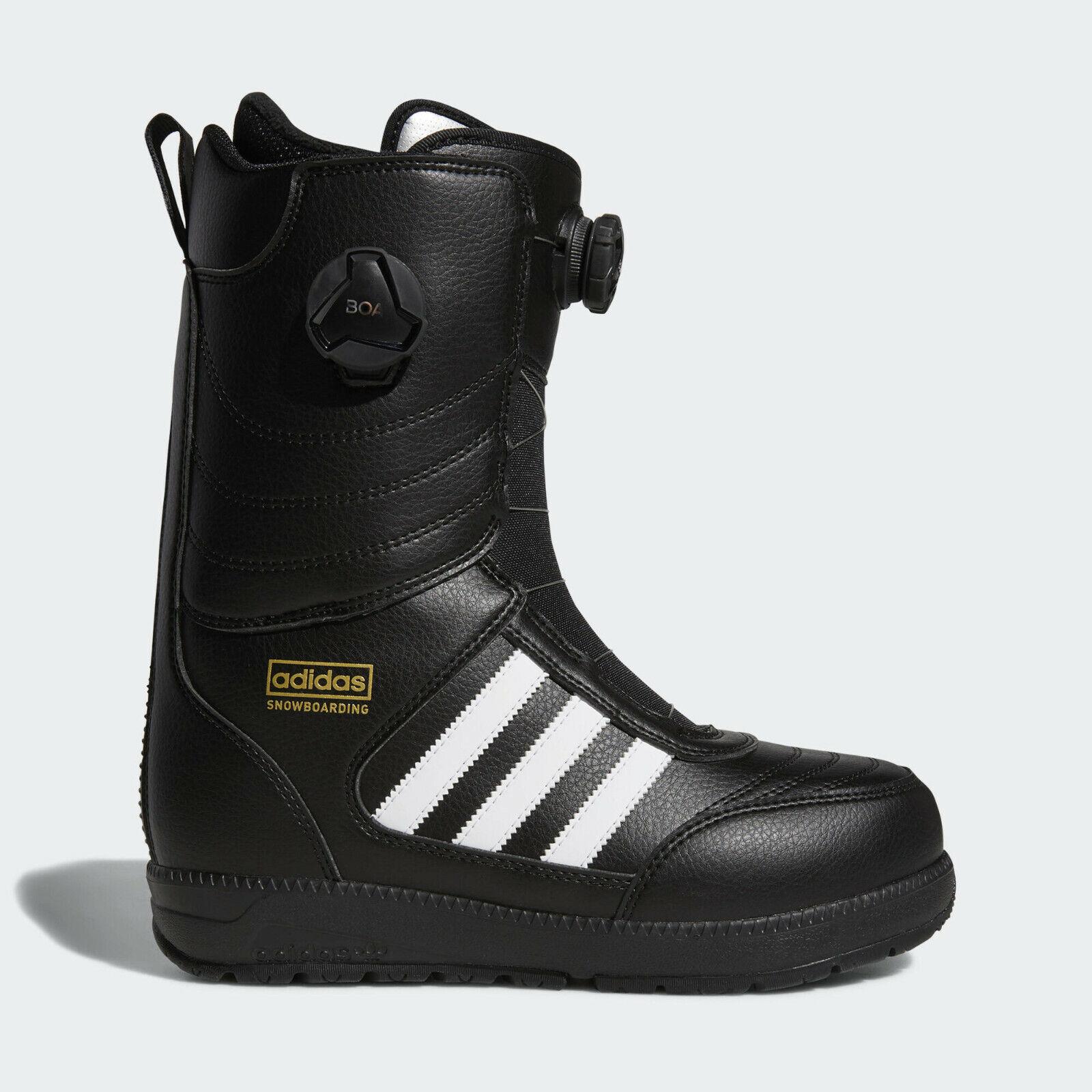 adidas Response ADV BOA Snowboarding Boots Size 11.5 Black W