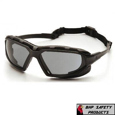 Safety Glasses Goggles Pyramex, Silver Mirror Frame Sunglasses
