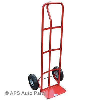 Heavy Duty Industrial Sack Truck Hand Trolley Wheel Barrow Cart New