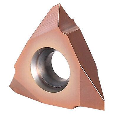 10x 16erag60 Carbide Threaded Insert Indexable Threading Tool Lathe Cutting Tool