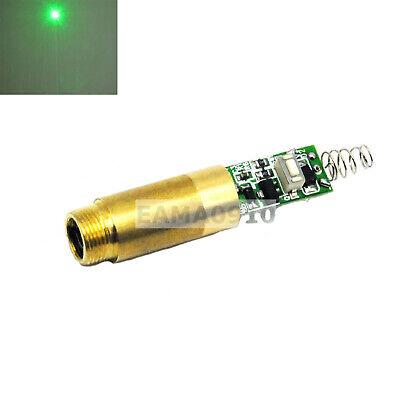 532nm 30mw 3v Green Laser Dot Diode Module Brass Host 12mm Diameter