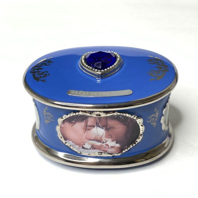 Titanic Porcelain Music Box Ardleigh Elliot Plays Nearer My God New W/ COA 1999