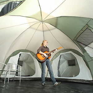 Skandika Korsika 10 Person Man Family Dome Camping Large