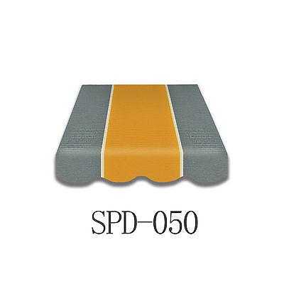 Markisenstoff Plane Zeltstoff  Ersatzstoff ohne Volant 300x250cm SPD050