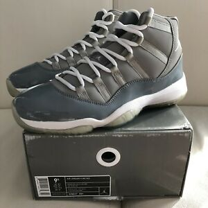 2cb6723bdbf Air Jordan Retro 11 • Cool Grey • size 9.5