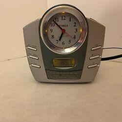 Nature Sounds Alarm Clock Radio - Timex T318S - Digital Radio Display
