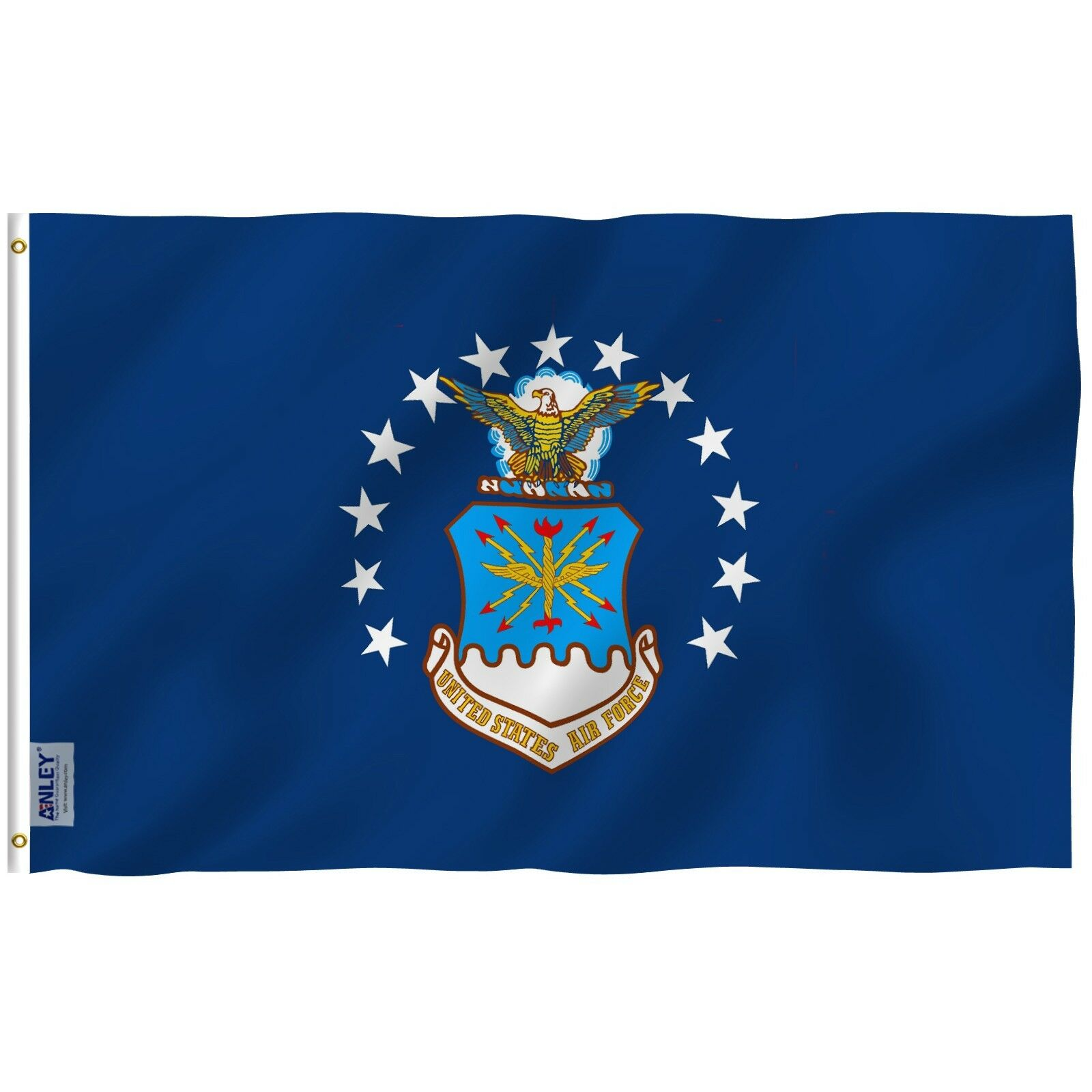 ANLEY Old US Air Force Flag United States Military Banner Po
