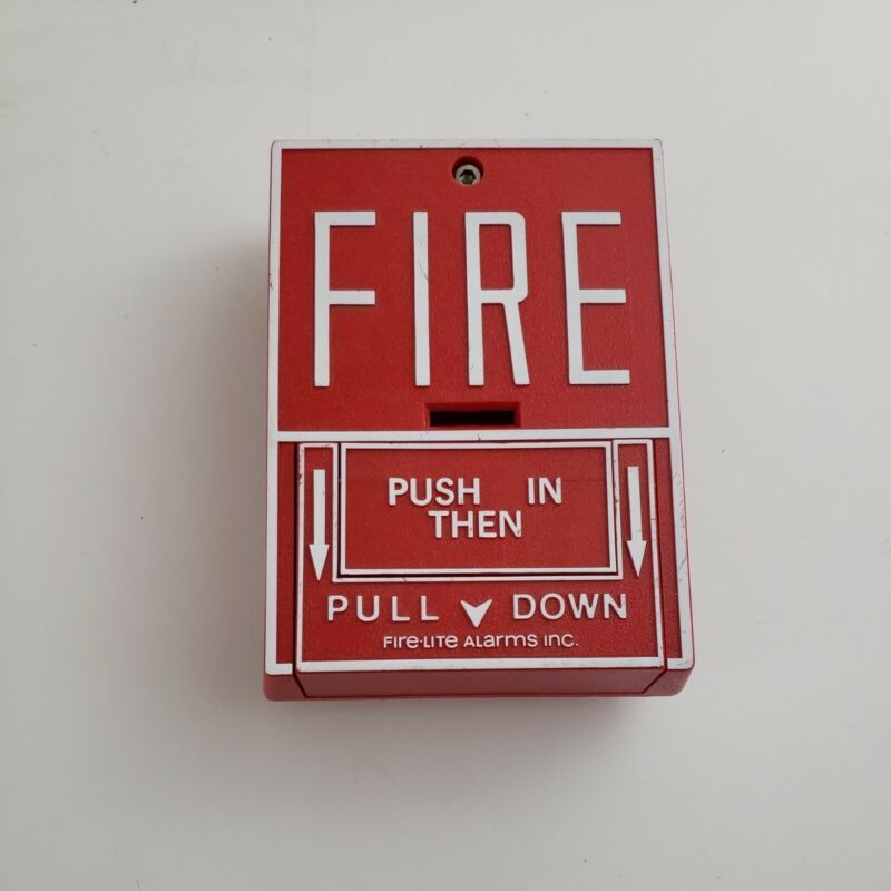 Fire-Lite BG-10 Fire Alarm Pull Station Honeywell Notifier