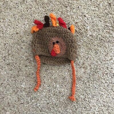 Infant Turkey Hat](Baby Turkey Hat)