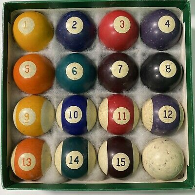 No 5 Pool Ball Speckled Clay Billiard Ball Size 1 78 Five V