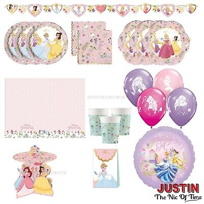 Girls Birthday Party Supplies Tableware & Decorations  (Disney Party Supplies)