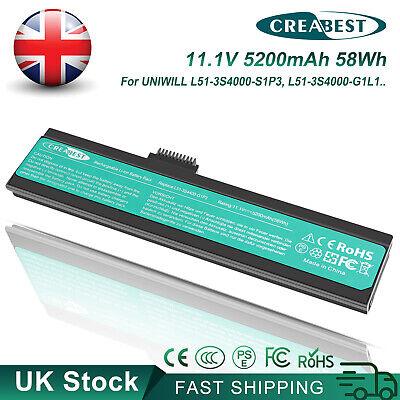 5.2Ah L51-3S4000-S1P3 L51-3S4400-C1L3 L51-3S4400-C1P3 Battery For Fujitstu L51II