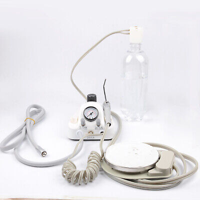 Dental Portable Air Turbine Unit Working With Compressor 2 Holes Dentist Syringe
