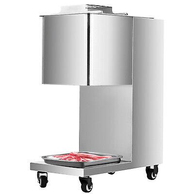 500kg Meat Cutting Machine Meat Cutter Slicer Wone Set Blade Output 110v Us Plu