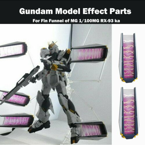 Extended Equipment Floating Effect Parts for Fin Funnel MG RX-93 ka Model Kits
