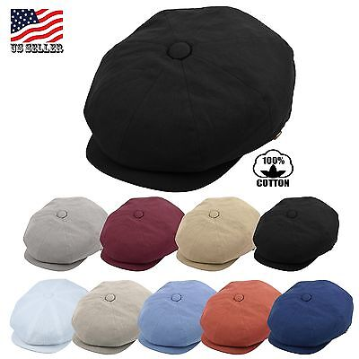 Mens Newsboy Cap, Patchwork Cabbie, Driving Cap, Summer Applejack Hat EPnsb2412