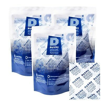 100 Gram X 20 Pk Dry Dryhigh Quality Pure Reusable Silica Gel Packets