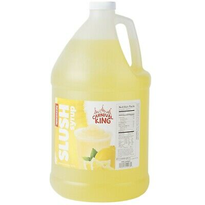 4 Case 1 Gallon Lemonade Carnival Cart Concession Stand Slushy Beverage Syrup
