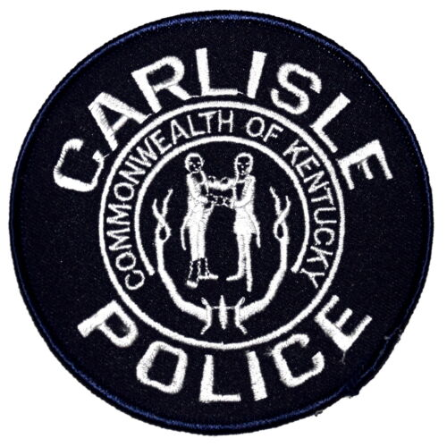 CARLISLE – SWAT - KENTUCKY KY Sheriff Police Patch SUBDUED STATE SEAL HANDSHAKE
