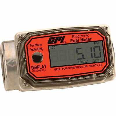 Gpi Digital Turbine Fuel Meter - Model 01a31gm