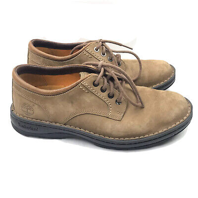 Timberland Earthkeepers Men's Oxford Shoe 9 M Brown Leather Lace Up Oxfords