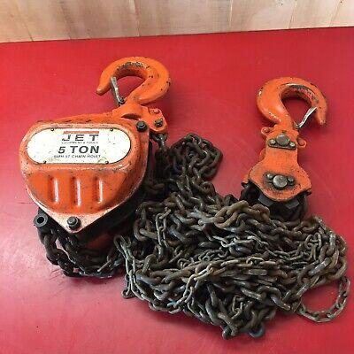 Jet Smh-5t Chain Hoist 5 Ton