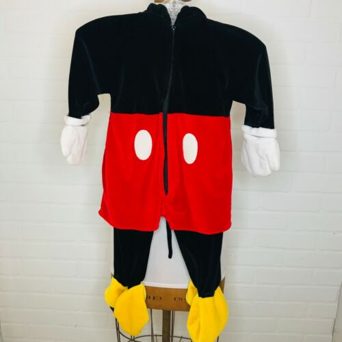 Mickey Mouse Costume Disney Store 18-24 Months Halloween School Party Full Ears