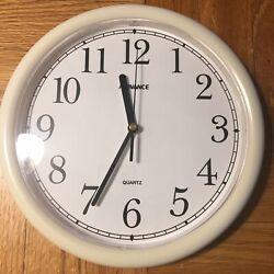 Advance Quartz Decorative Wall Clock Model No. 2188 One Battery Included.