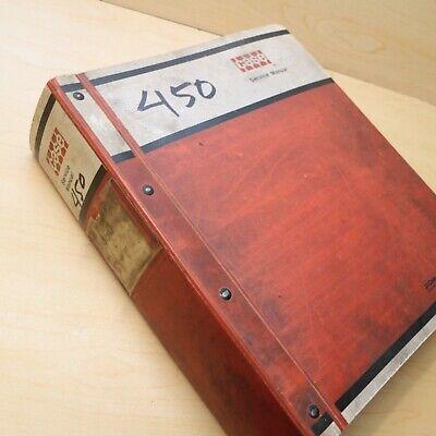 Case 450 Crawler Tractor Bulldozer Repair Shop Service Manual Book 1975 Overhaul