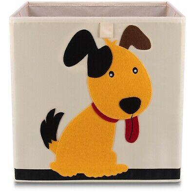 Kinder Aufbewahrungsbox Spielkiste Spielzeugbox Korb Aufbewahrung Hund ()