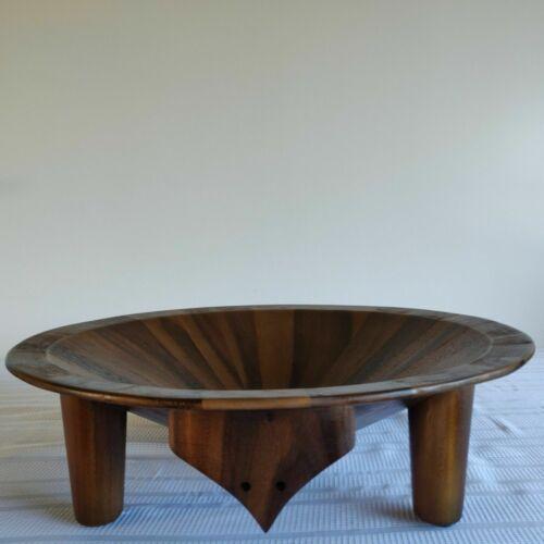 Kava Bowl - 4 Gallon Dark Acacia Wood Tanoa