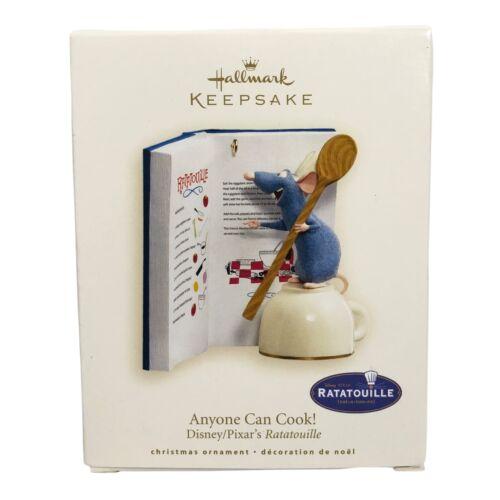 Hallmark Keepsake Ornament 2007 ANYONE CAN COOK Disney Pixar