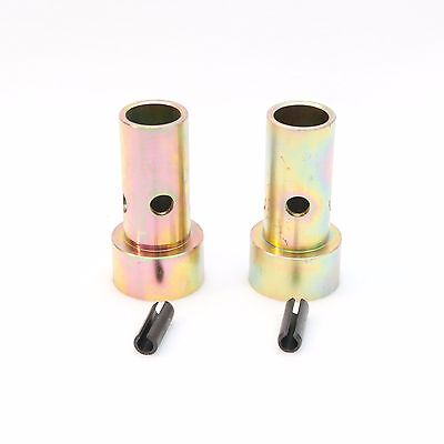 Pair Cat 2 Quick Hitch Adapter Bushings Category Ii Tractor 3-pt Bushing Set