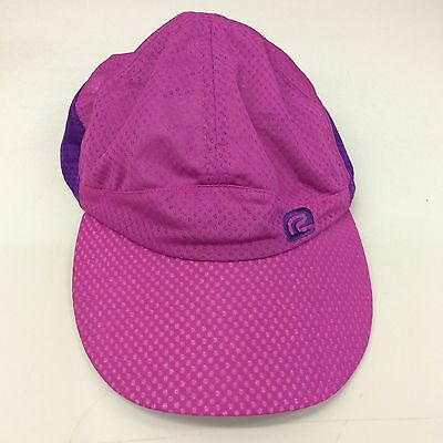 016c3191660 Road Runner Sport RRS Mesh Polyester Running Hat Cap 2-Tone Purple Color  Adj Sz