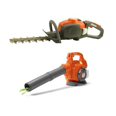 Husqvarna Toddler Toy Battery-Operated Lawn Leaf Blower w/ T