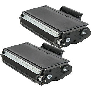 2 pack TN580 Toner For Brother TN-580 MFC-8460N MFC-8470DN MFC-8660DN MFC-8670DN
