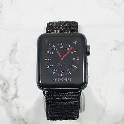 Apple Watch Series 3 42mm Space Gray Aluminium Black Loop GPS LTE 7/10