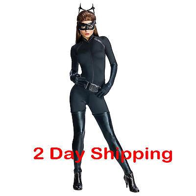 Batman The Dark Knight Rises Secret Wishes Adult Catwoman (Catwoman Batman Dark Knight Rises Kostüm)