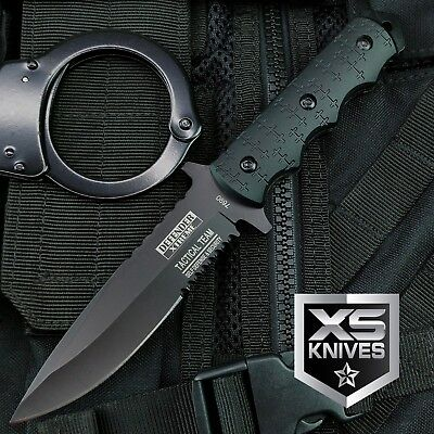 "9"" Navy SEALs Tactical Combat Bowie Knife w/SHEATH Military"