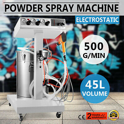 Electrostatic Powder Coating System Machine With Spraying Gun Wx-101 45l Sprayer