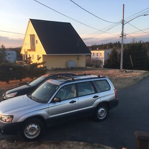 2005 Forester Wagon (awd) - low kilometres - reduced