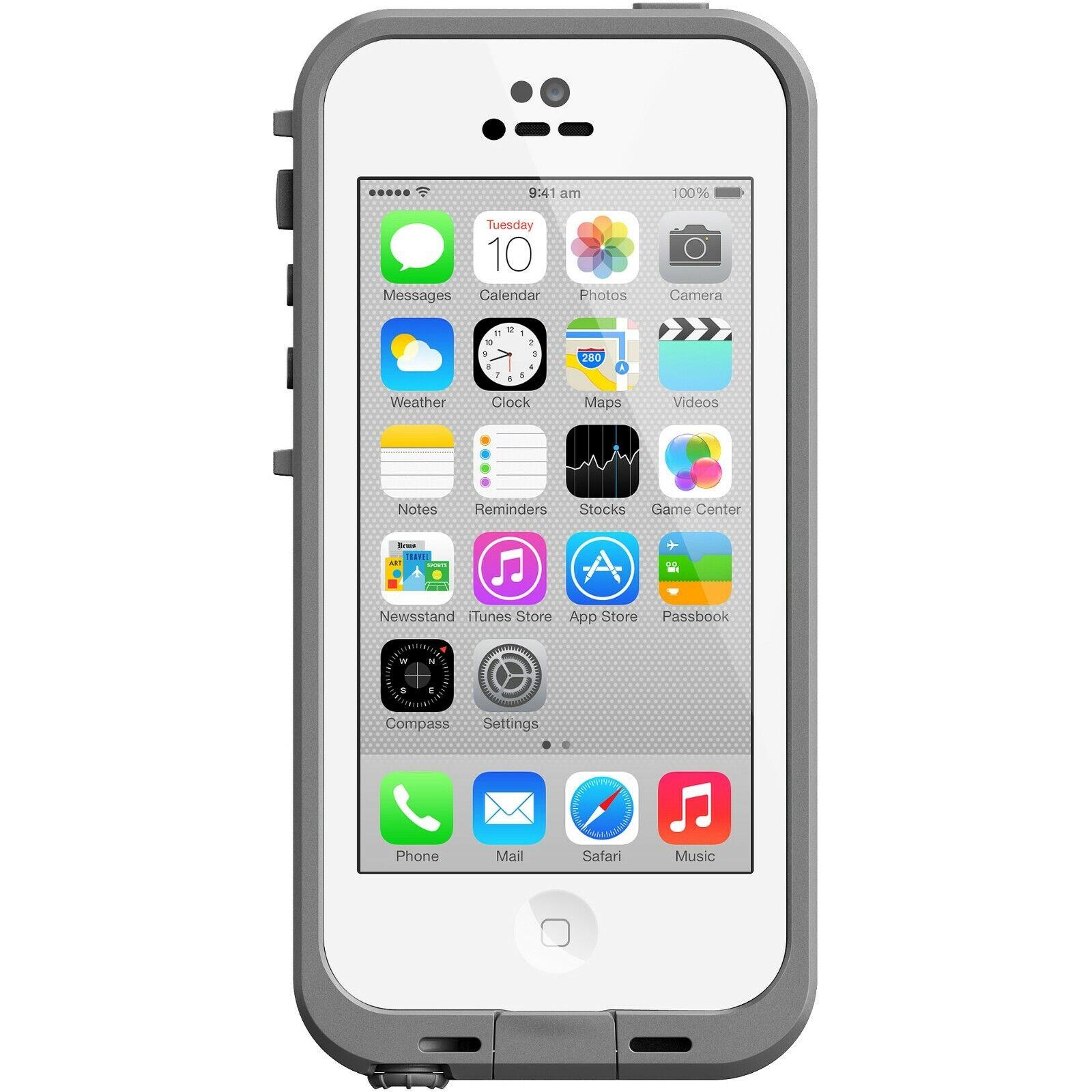 LifeProof FRE iPhone 5c Waterproof Case - Retail Packaging -