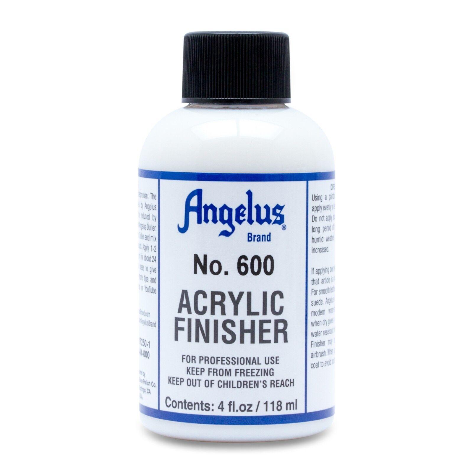 Angelus 600 Acrylic Finisher 4oz Crafts