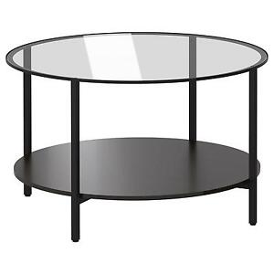 Glass Top Coffee Table eBay