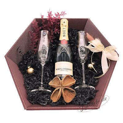 Moët & Chandon   12% 0,375L   Geschenkset Champagner & Gläser   Premium