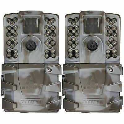 (2 Pack) New Moultrie A35 Infrared 14MP Game Trail Stealth Security Camera Cam